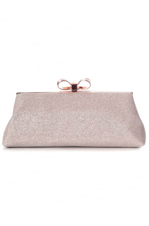 Iirene Glitter Bow Women's Evening Bag