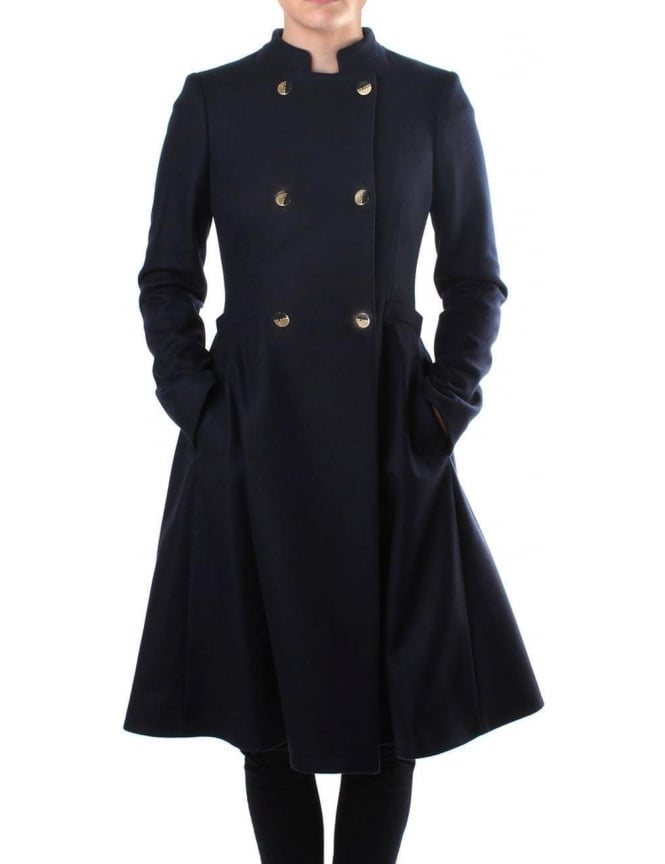Ted Baker Indego Double Breasted Women's Flared Coat