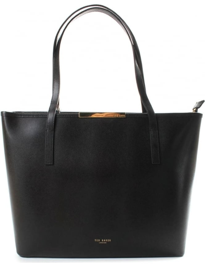 Ted Baker Kaci Mini Grain Women's Large Shopper Black