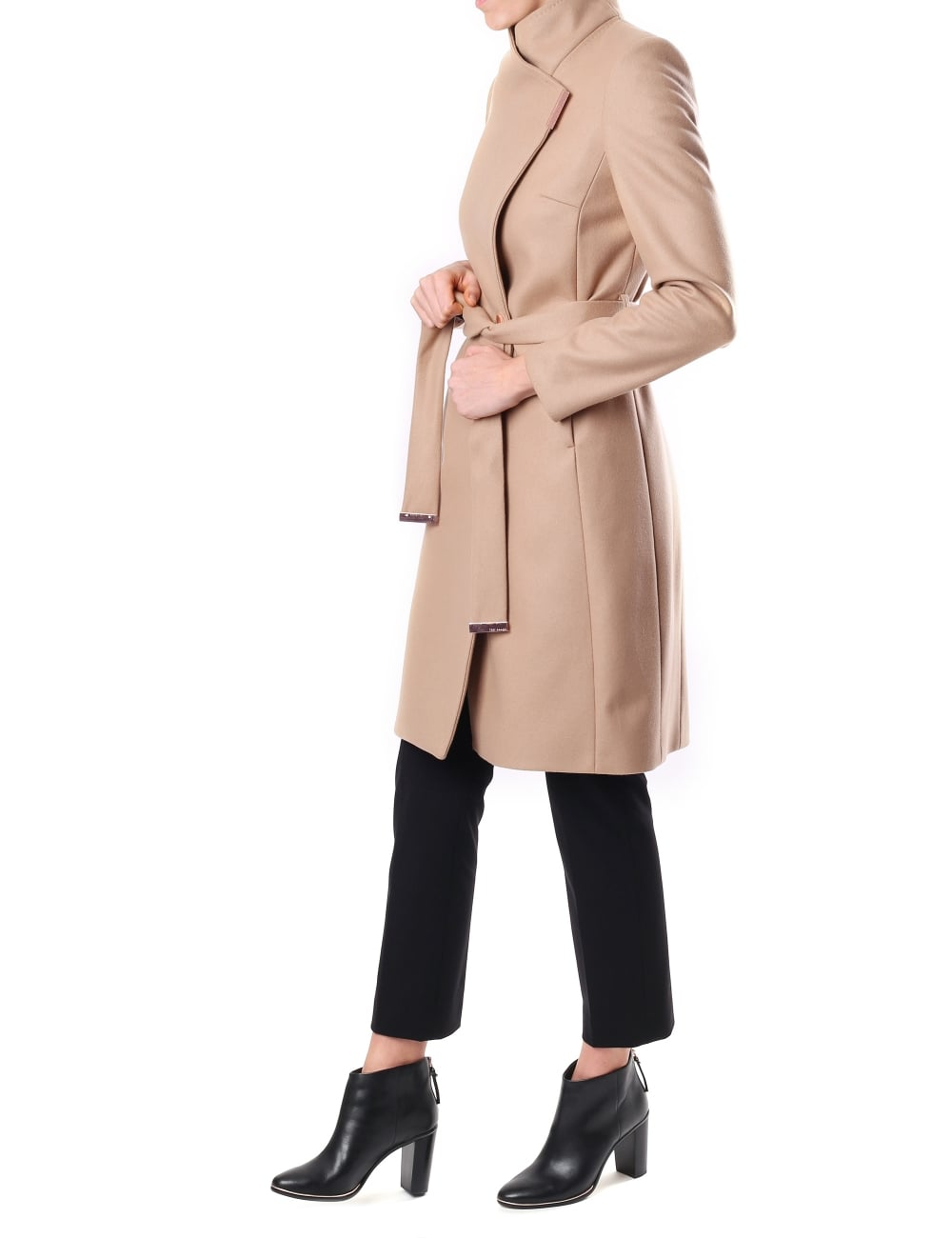 4dc9901a4 Ted Baker Kikiie Women s Long Wrap Coat