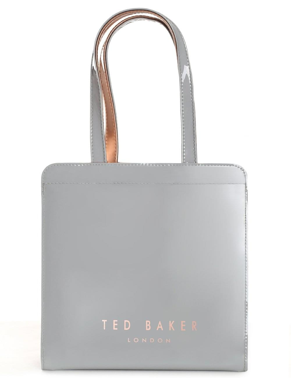 e3810bbea63493 Ted Baker Kriscon Women s Bow Detail Small Icon Bag Mid Grey