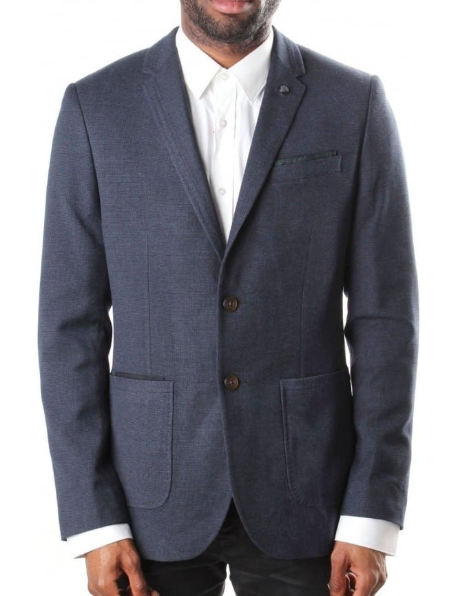 Ted Baker Lasveg Mini Men's Design Blazer Blue