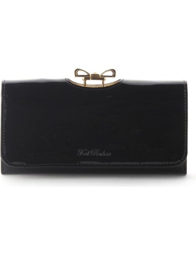 dfbcfb2c122 Ted Baker Lindar Women's Patent Matinee Purse Black