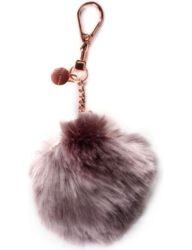 0432307ccfd1 Ted Baker Lolaa Women s Fluffy Character Bag Charm Purple