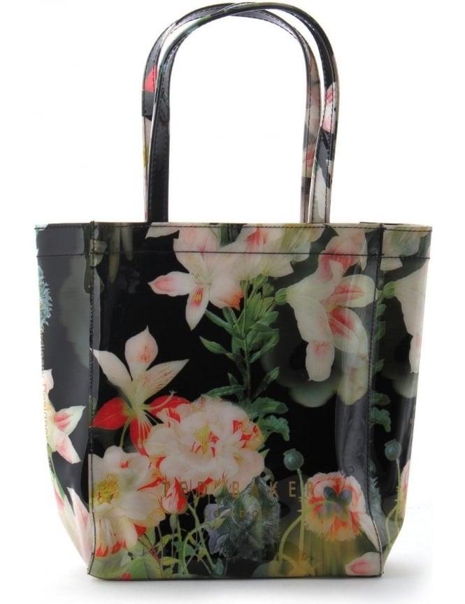 1e29b6fc842 Ted Baker Lomcon Women's Opulent Small Print Bag Black