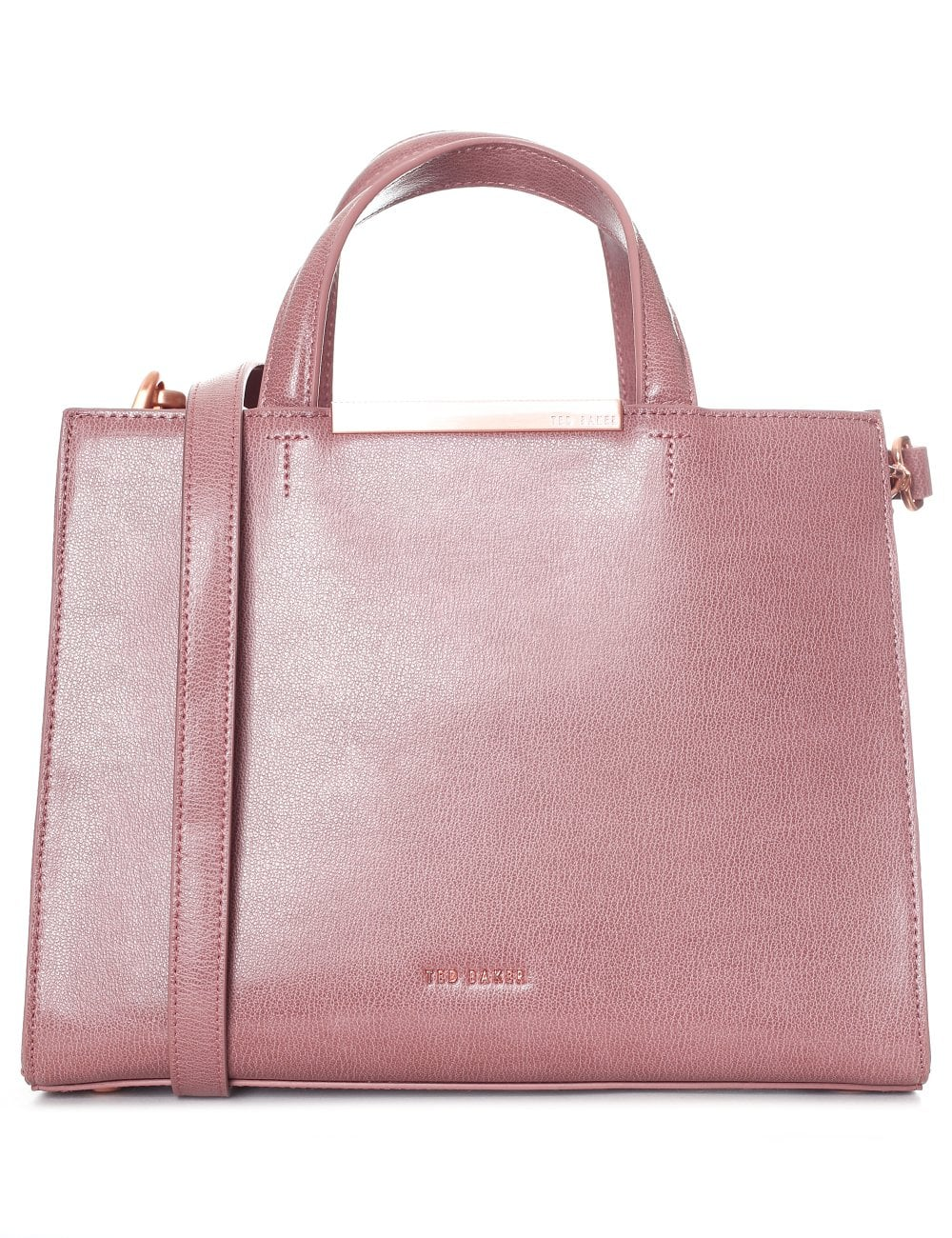 eae6e5ca8f25e TED BAKER MADALYN CORE LEATHER TOTE BAG
