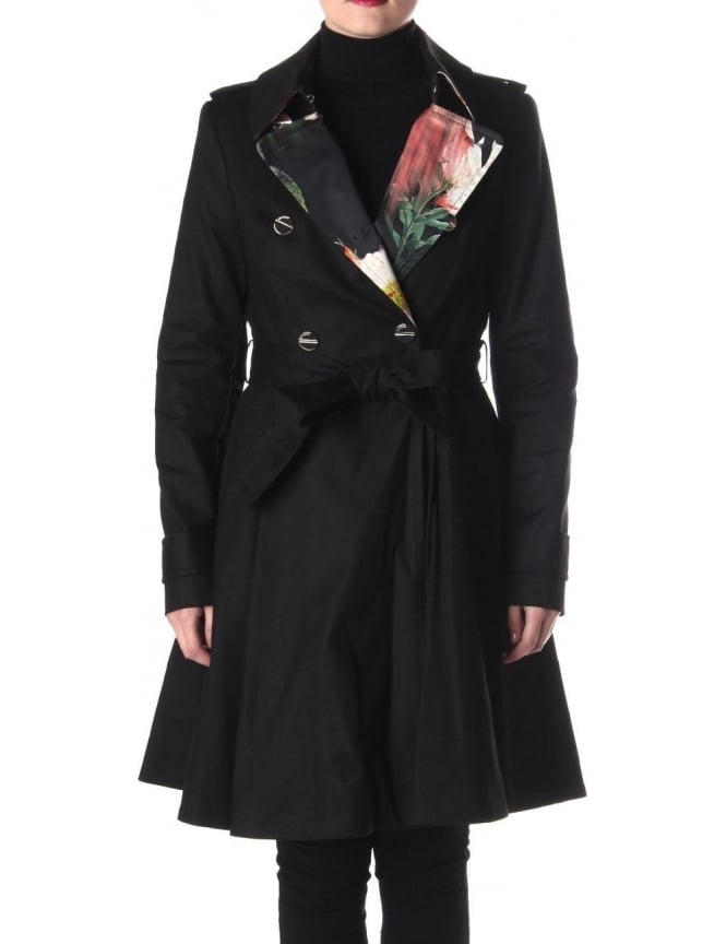 a0ace2537fc8a0 Ted Baker Mckenzie Women s Trench Coat Black