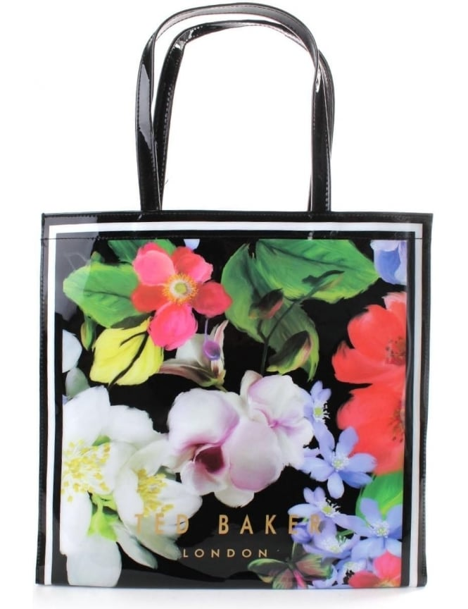 Ted Baker Meecon Women's Forget Me Not Large Icon Bag Black
