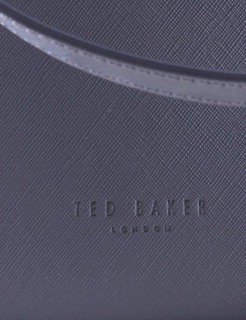 57662db5406cd Ted Baker Noelle Women s Crosshatch Shopper Bag Dark Blue