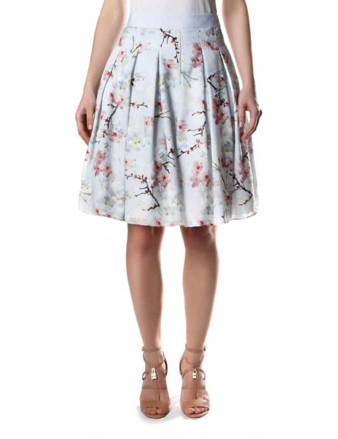c56e5dad5 Ted Baker Oriental Blossom Women s Burnout Skirt