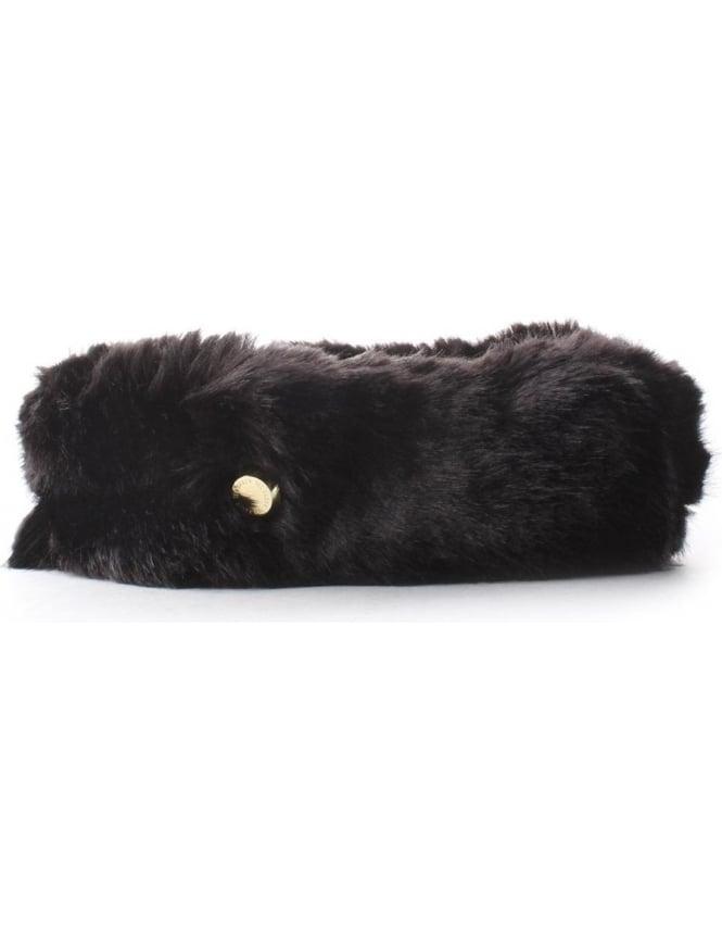 Ted Baker Reida Women s Faux Fur Headband Black 34aa77712b2
