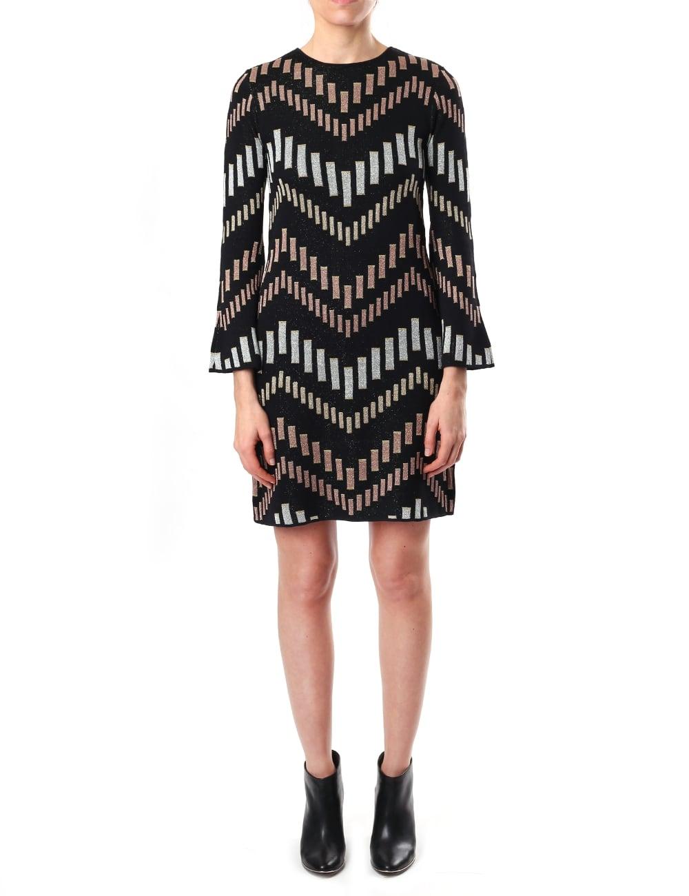 Ted Baker Rozzy Women\'s Bell Sleeve Knit Dress
