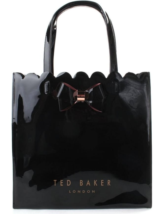 Ted Baker Scalon Women's Scalloped Detail Bow Large Icon Bag