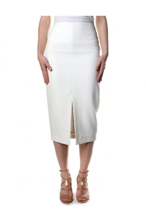 Silaas High Waisted Women's Split Pencil Skirt