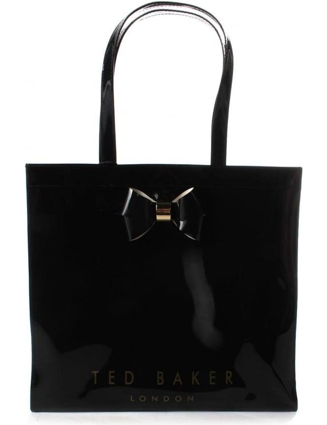 ceb93537b1 Ted Baker Sumacon Women's Plain Bow Large Icon Bag Black