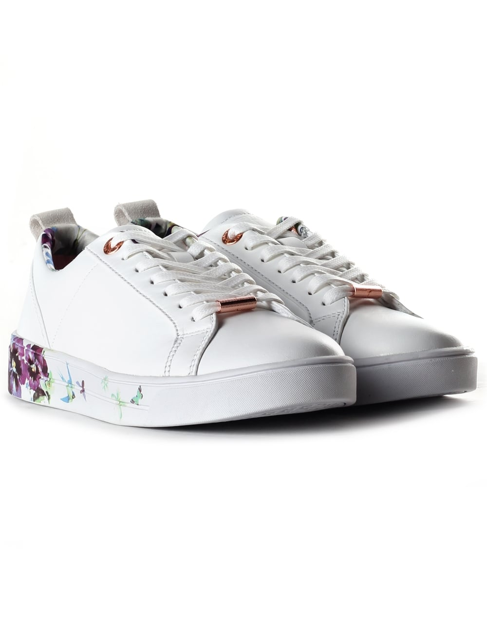 f76e66d2449579 Ted Baker Women s Barrica Printed Sole Trainer