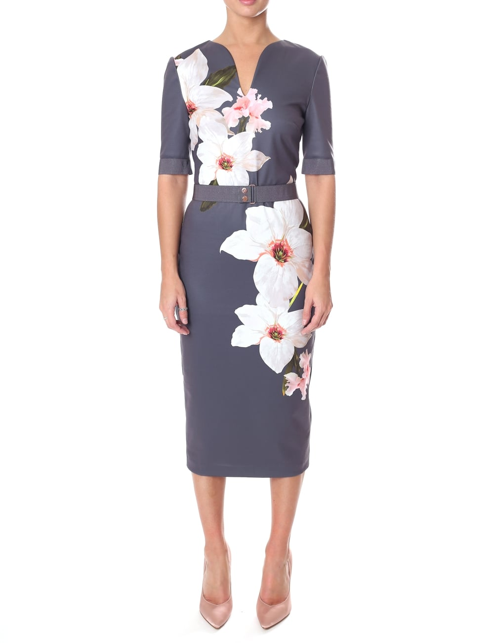 Ted Baker Women S Bisslee Chatsworth Bodycon Dress