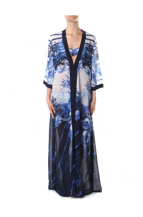 Women's Henee Persian Blue Cover Up Dark Blue