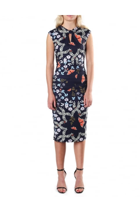 Women's Kairra Kyoto Garden Bow Neck Dress