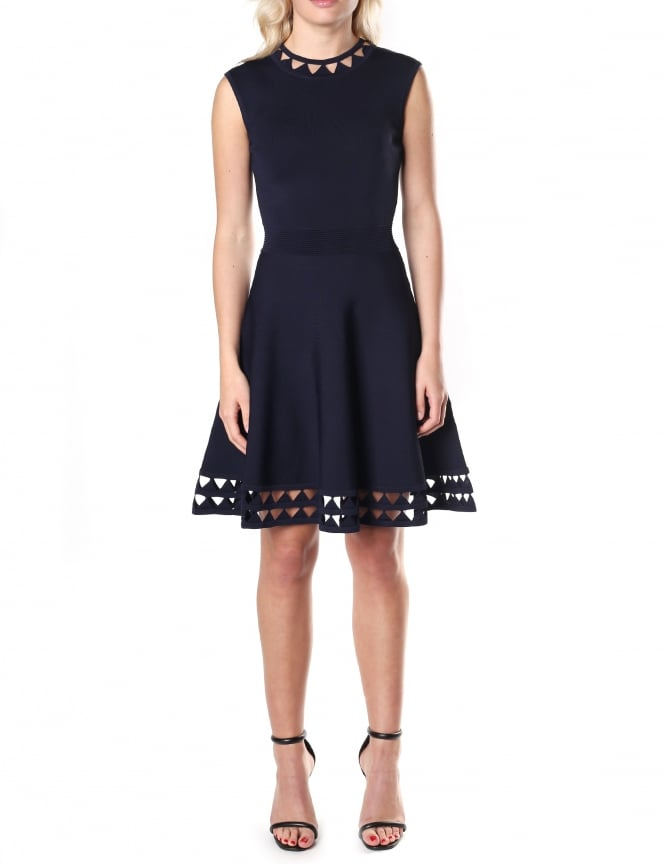 Ted Baker Women's Kathryn Cutwork Knitted Dress
