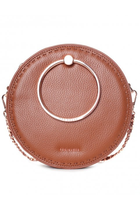 3cef7cac1 Women s Maddie Stab Stitch Circle Bag · Ted Baker Women s Maddie Stab Stitch  Circle Bag Brown