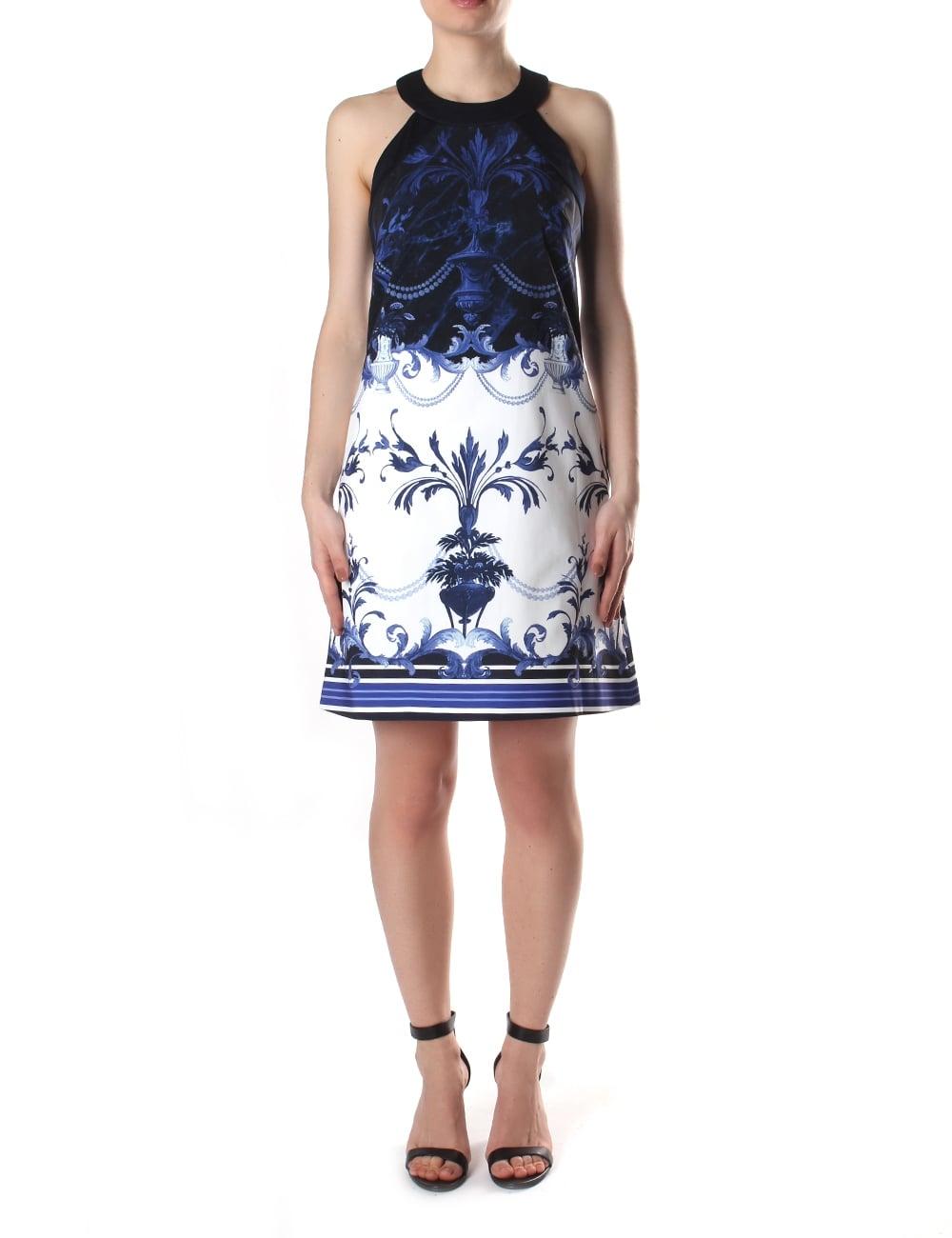 5b71378888c4 Ted Baker Women s Molliat Persian Blue Halterneck Tunic