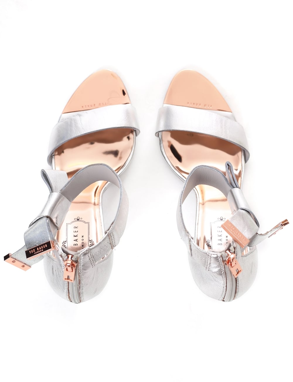 5e5979d496f3 Ted Baker Women s Saphrun Knotted Now Leather Sandals