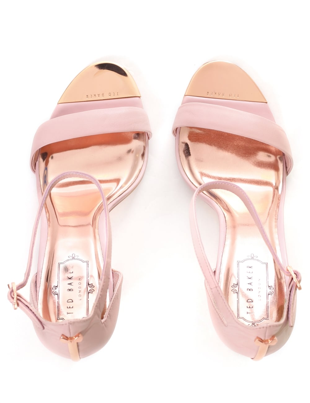 1a3ec7b29ce Ted Baker Women s Sharlot Bow Detail Heeled Sandals