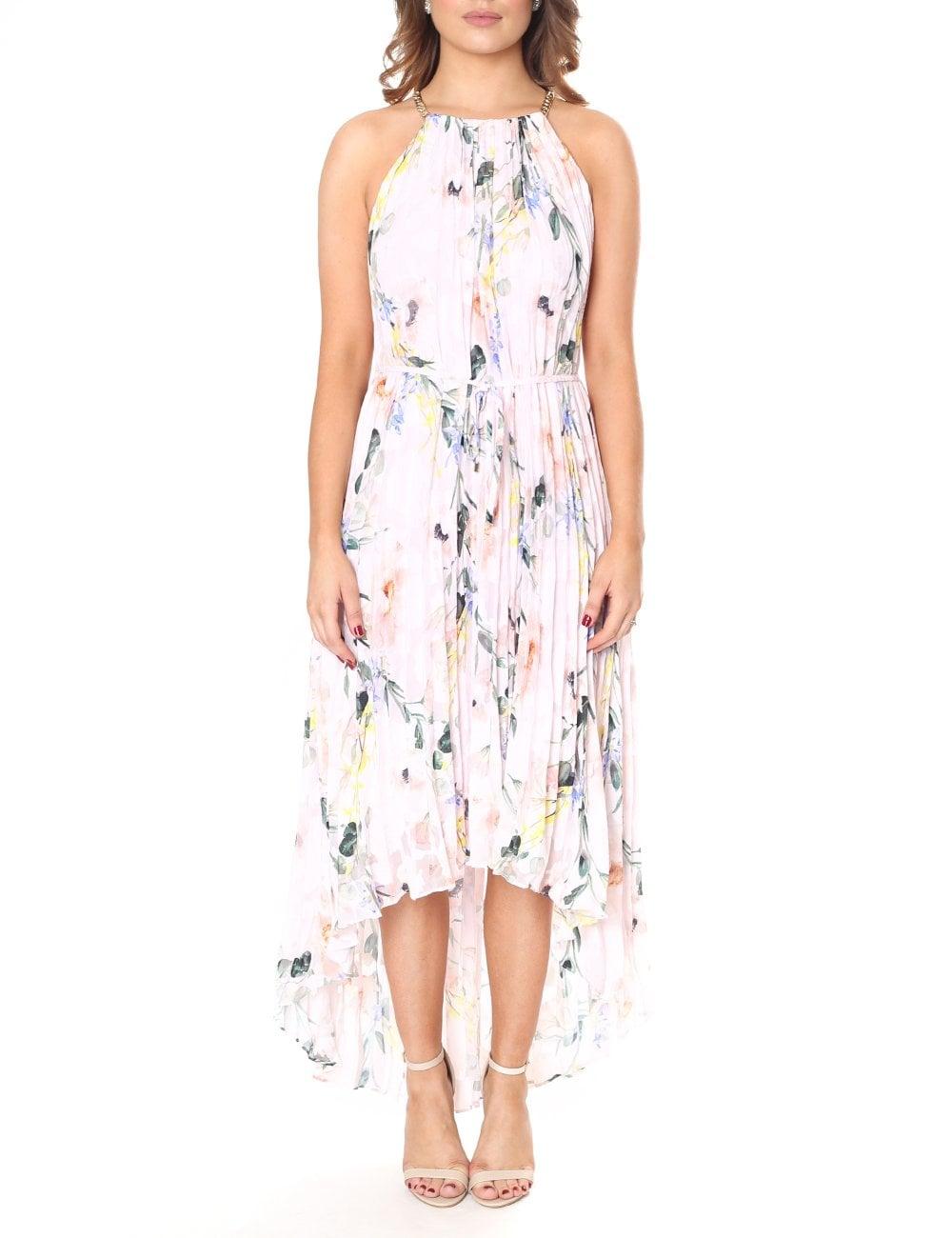 4b38e98a67532 Ted Baker Women s Valetia Elegance Pleat Dip Hem Dress
