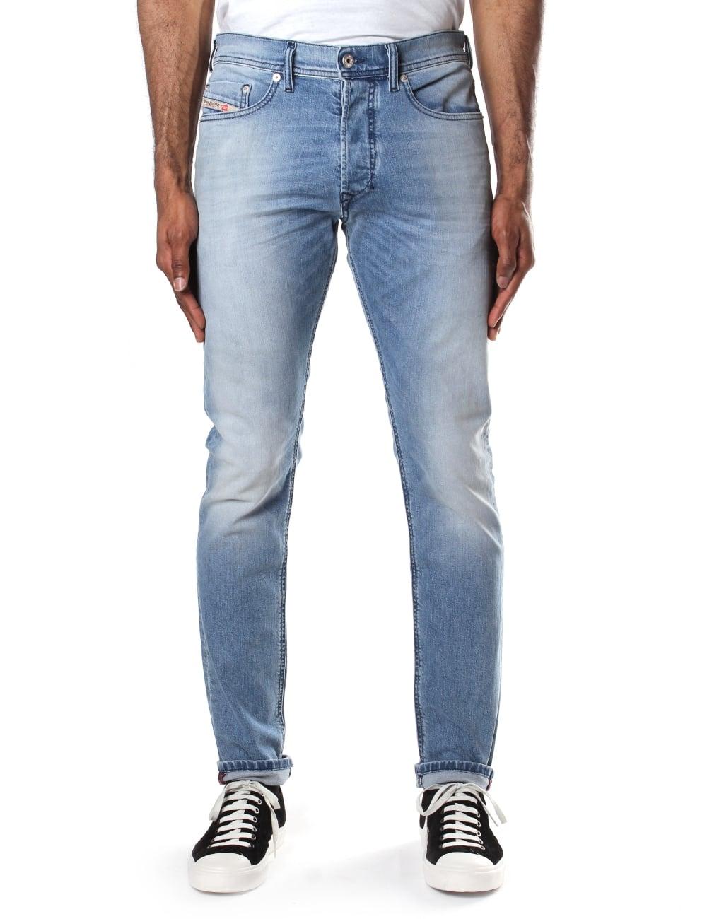 außergewöhnliche Auswahl an Stilen wie kommt man Outlet Store Verkauf Diesel Tepphar 84CU Men's Jean