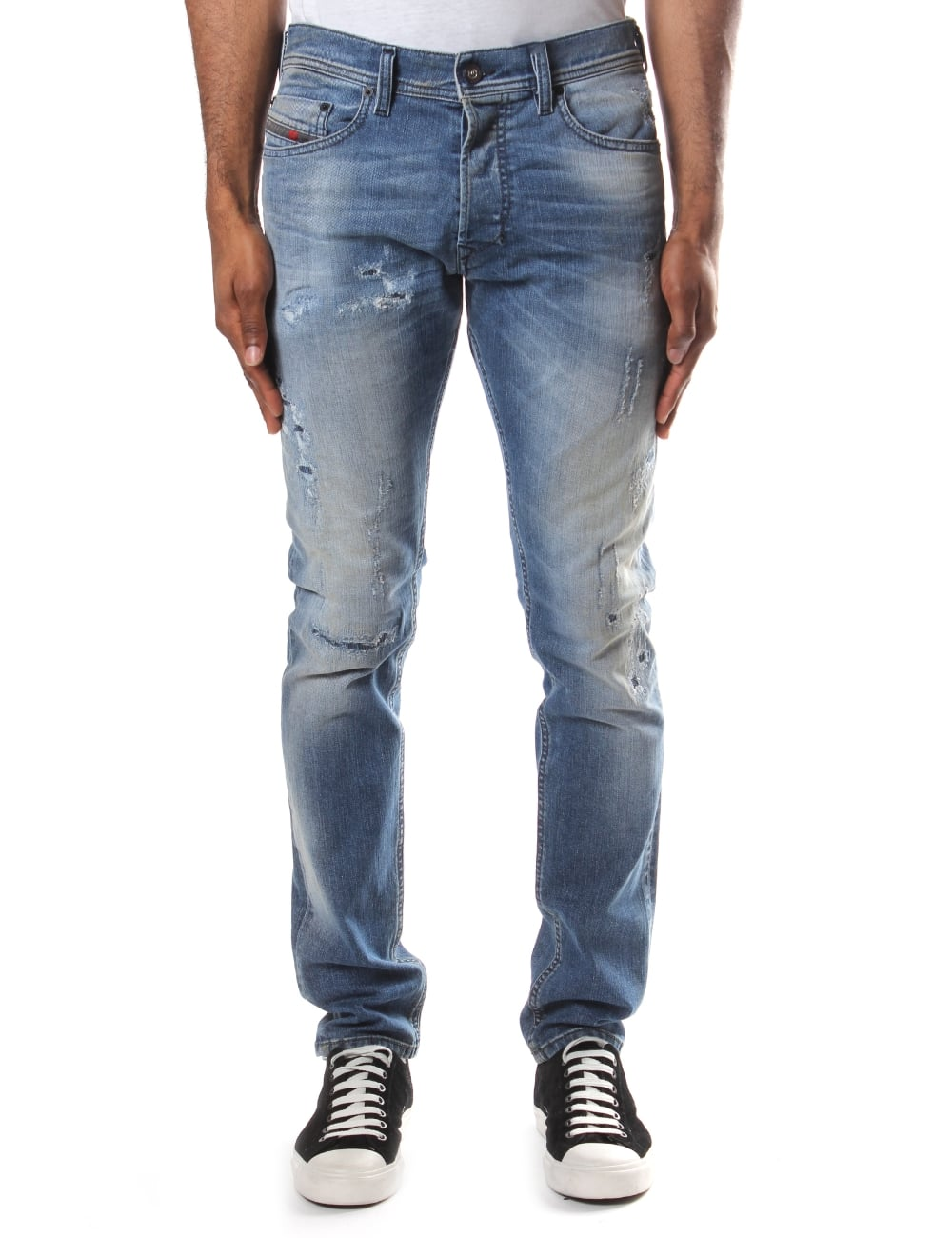 69dac9981c0945 Diesel Tepphar 854Z Men's Slim Fit Jean