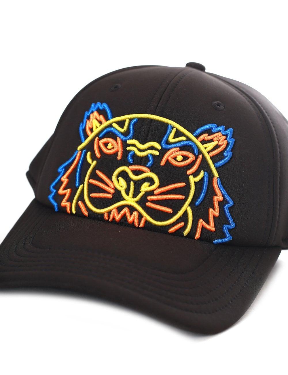 72201ae83e Kenzo Men's Tiger Neoprene Cap
