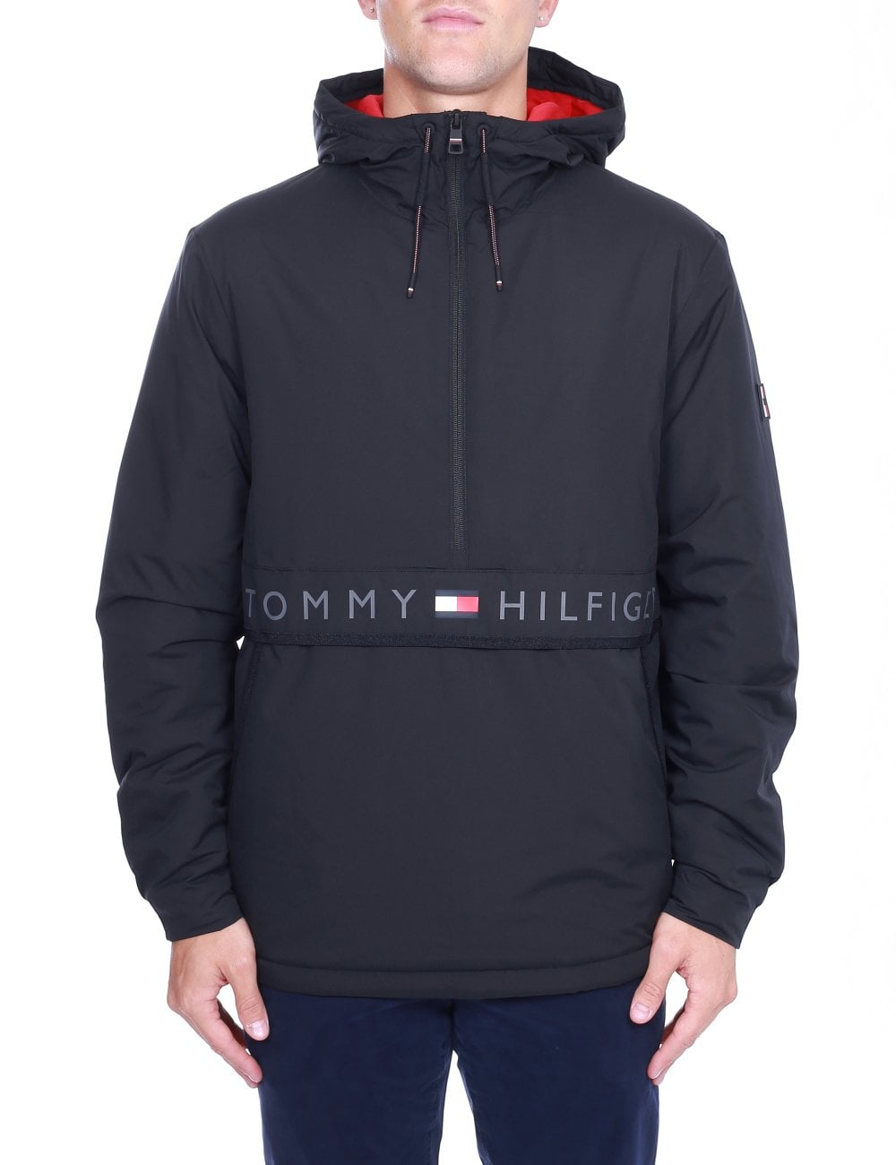 forskelligt top mode 100% autentisk Hooded Stretch Anorak