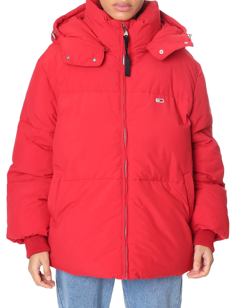 8606366df Tommy Hilfiger Woman's Oversized Puffer Jacket