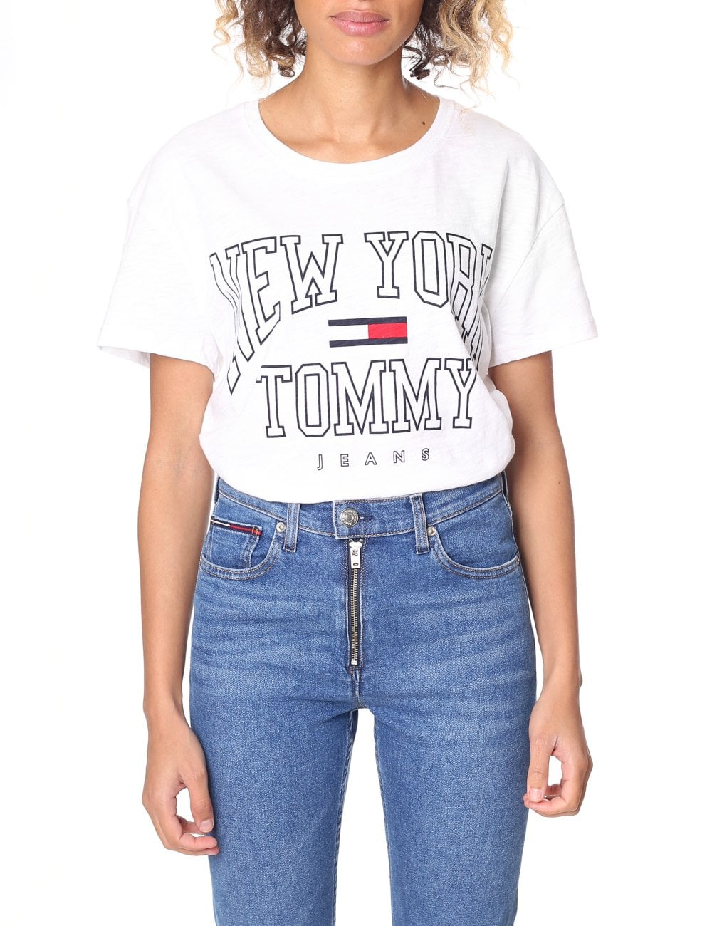 Tommy Hilfiger Women s Boxy New York Tee 8f895a95e56