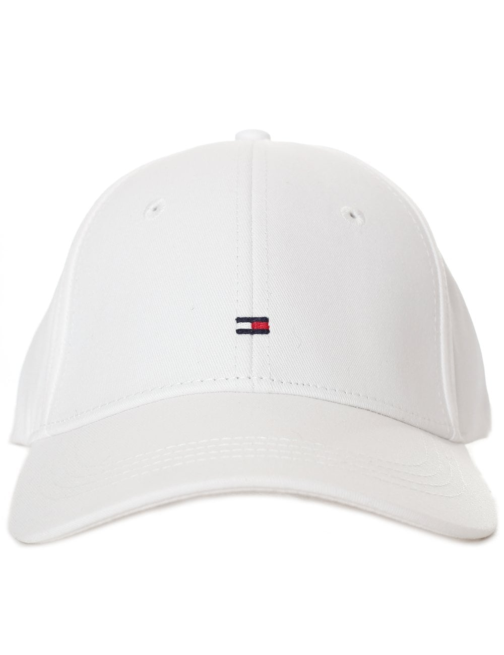 Tommy Hilfiger Women s Classic Baseball Cap Bright White 7a99af22b3f