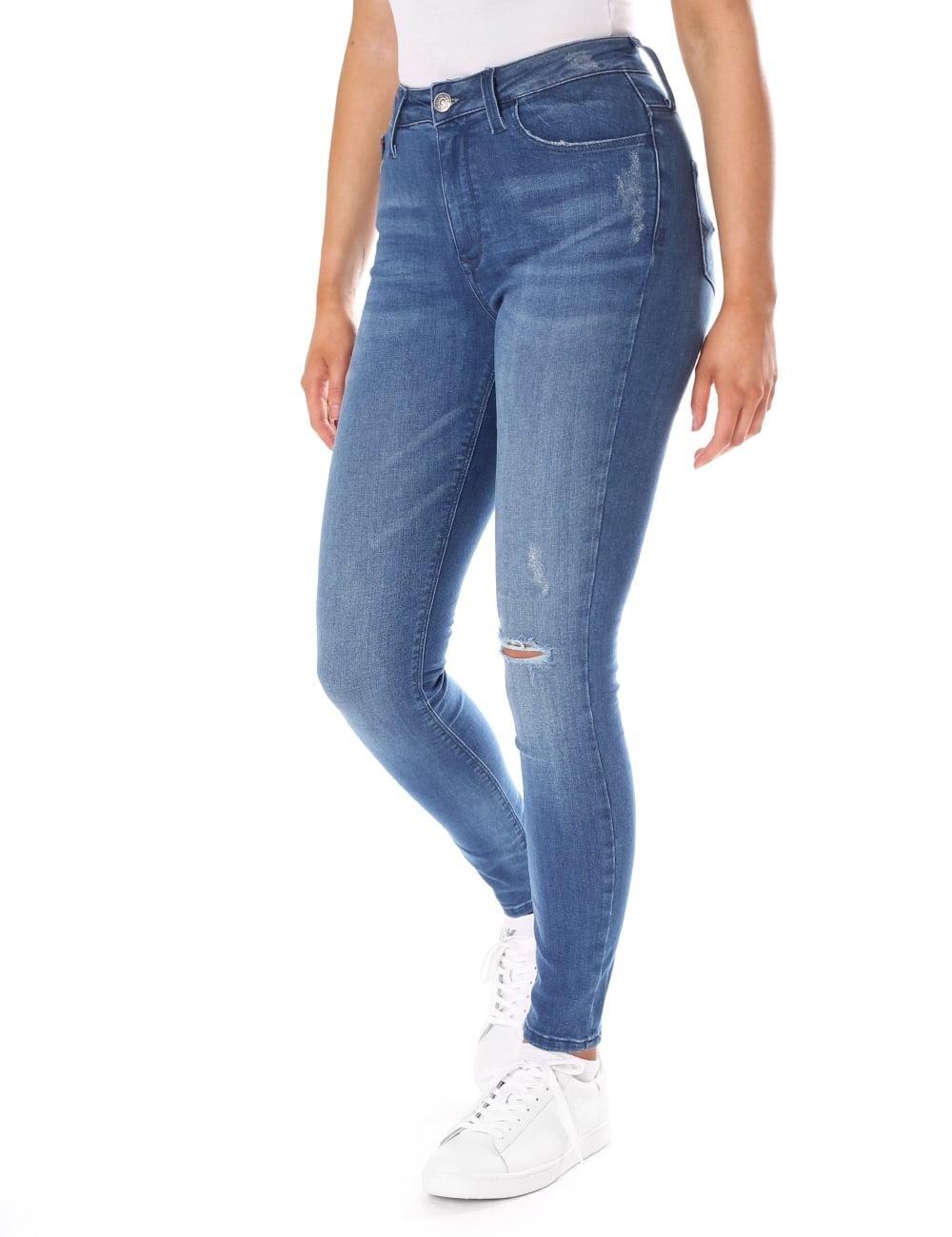 2ec19a8f Tommy Hilfiger Women's High Rise Skinny Santana Jean
