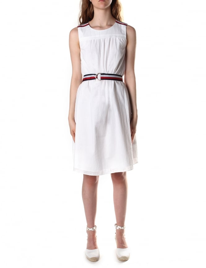 Tommy Hilfiger Women's Isabella Polina Clipdot Dress
