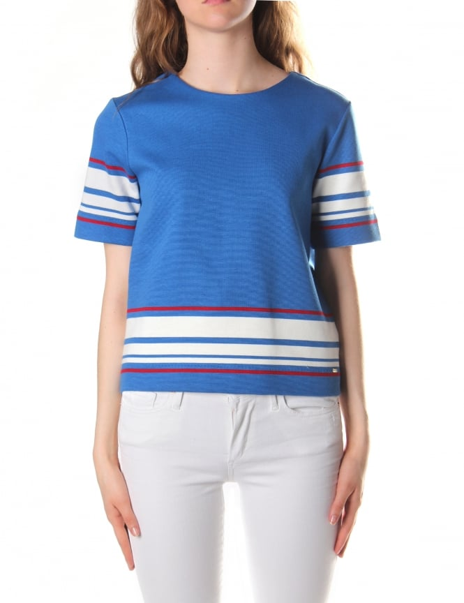 Tommy Hilfiger Women's Paige Boxy Crop Top