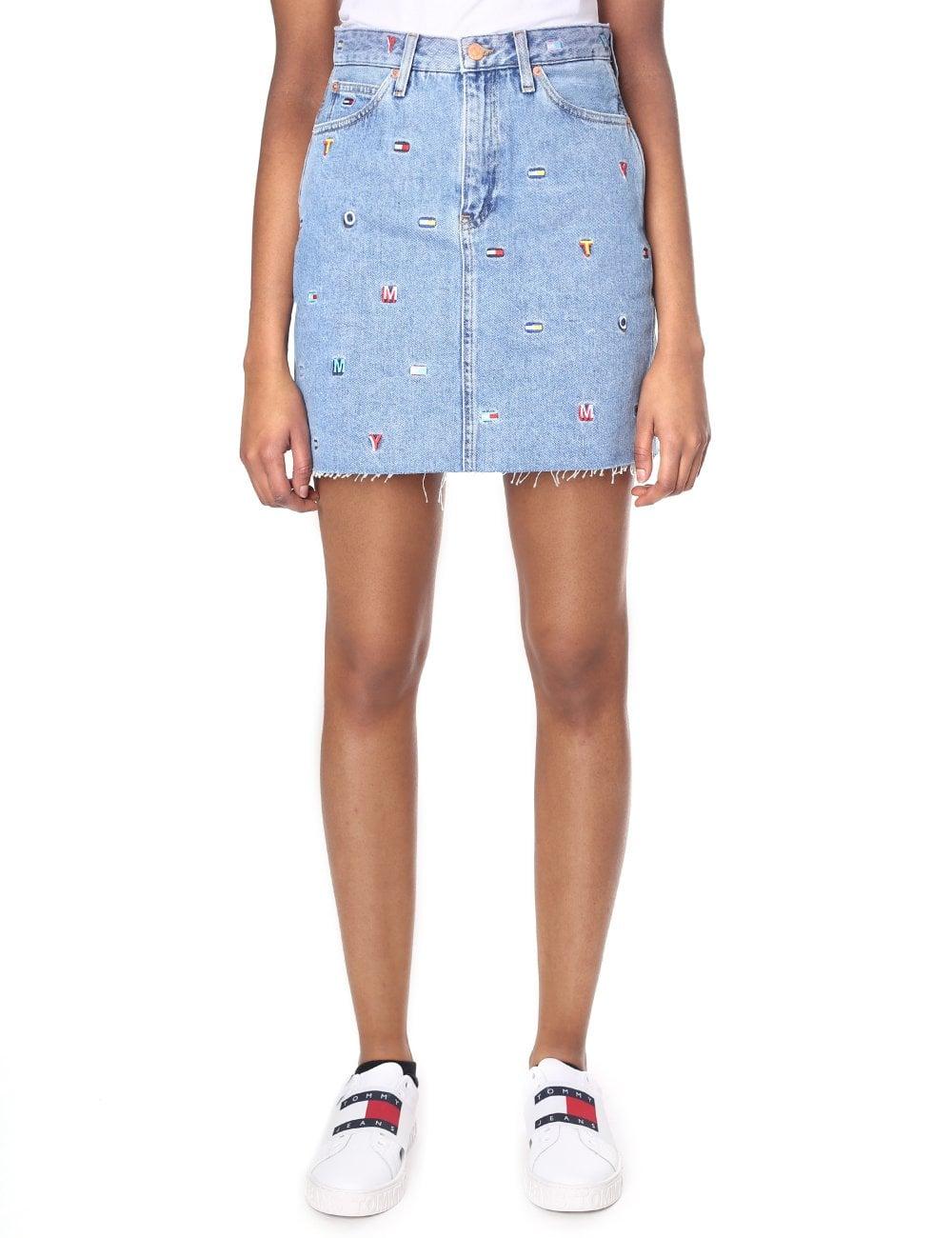 06d3d8d8c Tommy Jeans Women's Short Denim Skirt