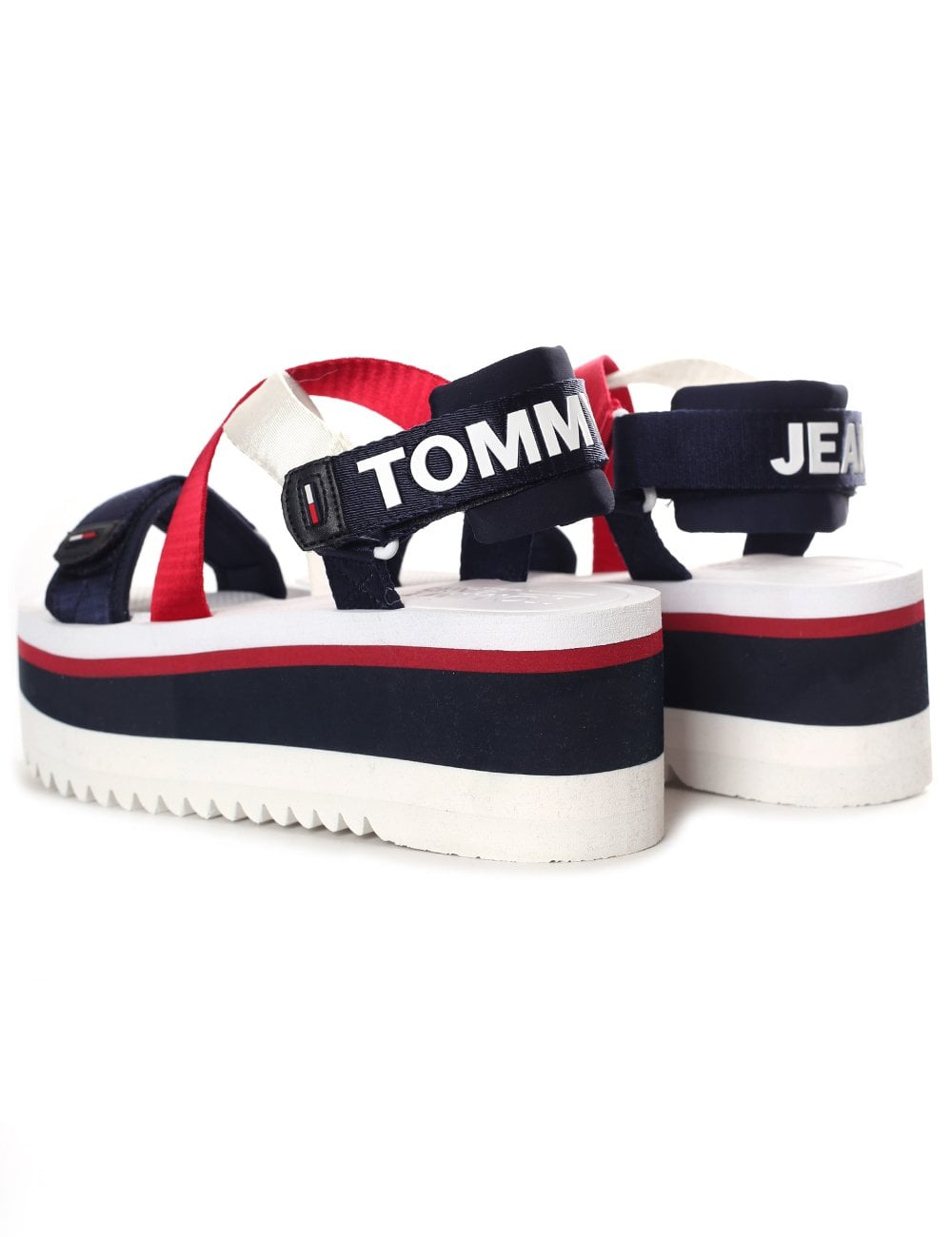 8a6343495c4e Tommy Jeans Women s Sport Neoprene Platform Sandal
