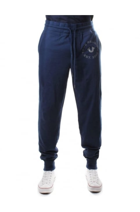 Contrast Men's Sweat Pants Midnight