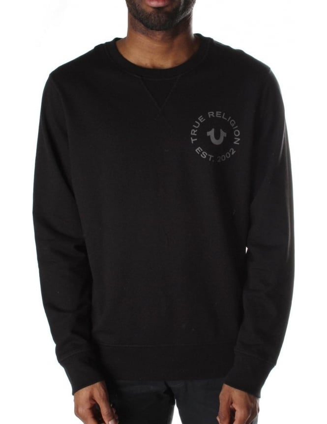 True Religion Crew Neck Men's Long Sleeve Sweat Top