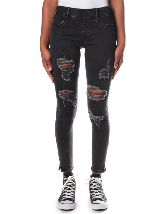 True Religion Distressed Women's Runway Leggings