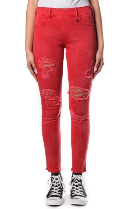 Distressed Women's Runway Leggings