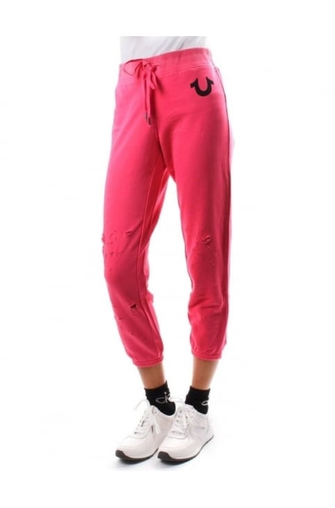 Distressed Women's Sweat Pant