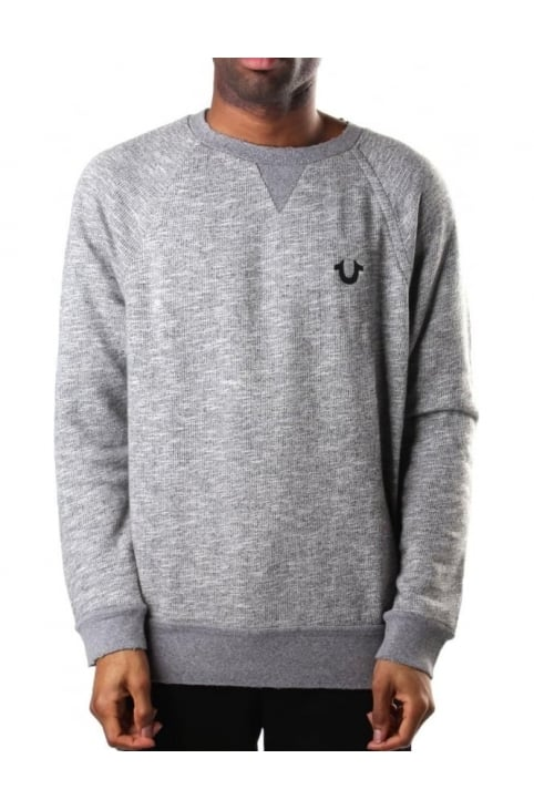 Elongated Men's Sweat Top Heather