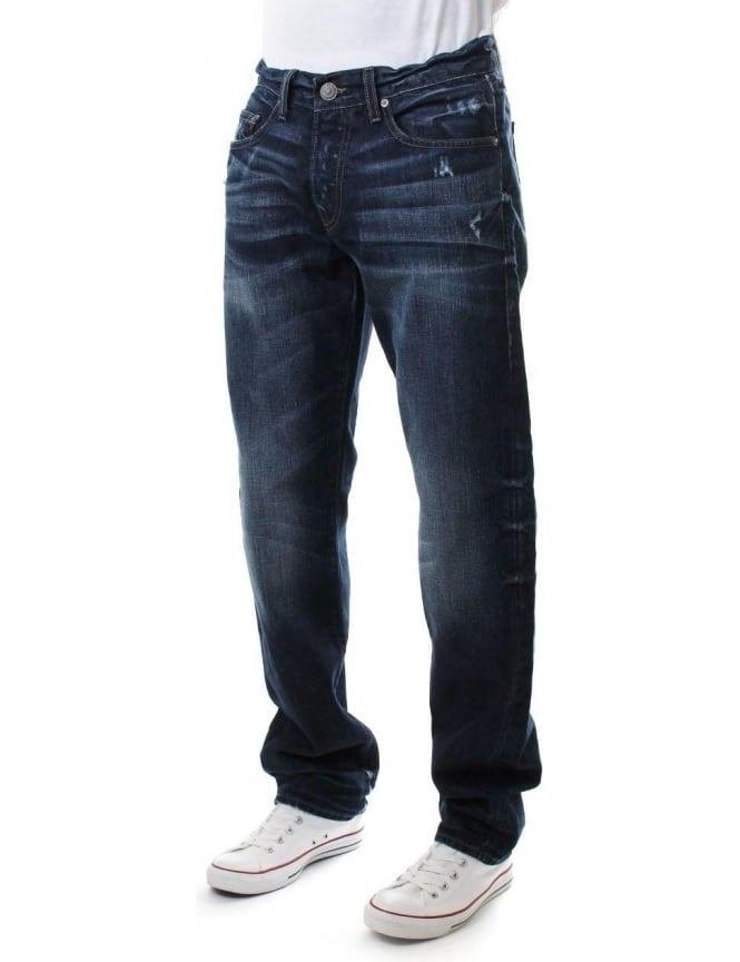 True Religion Geno No Flap Men's South East Jean Indigo
