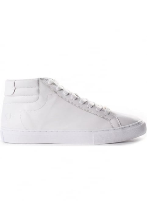 Hi Top Men's Leather Trainers