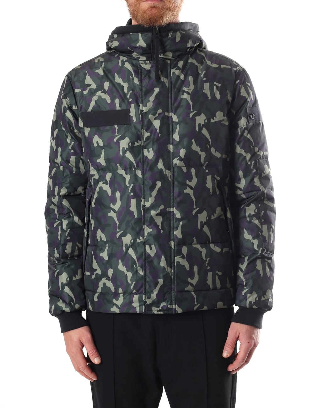 4f7a01e41ee0c True Religion Hooded Men's Camouflage Jacket